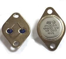 5 Pcs 2N3055 TO-3 NPN AF Amp Audio Power Transistor 15A/60V AK