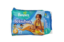 Pampers Splashers Swim Diaper Pants - Size 5 x 22 Count (Cheaper if buy more)