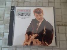 JOHNNY HALLYDAY VERSIONS ORIGINALES 160-1961 (2 CD) CD OR VOGUE