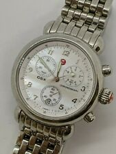 Michele CXS MW03C00A0025 Stainless Steel Chronograph Watch - 36mm