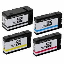 4-Pk/Pack PGI-1200XL 1200XL Ink For Canon MAXIFY MB2020 MB2120 MB2320 MB2720
