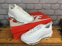 NIKE AIR MAX 97 WHITE BULLET 2019 TRAINERS CHILDRENS MANY SIZES RRP £90 PERF