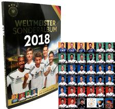 WM World Cup Russland 2018 REWE Sammelkarten - 1x Komplettsatz + 1x Album