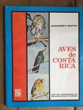Aves de Costa Rica.  Alexander Skutch, 1984