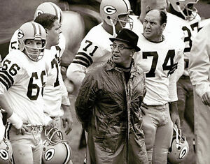 VINCE LOMBARDI & RAY NITSCHKE 8X10 PHOTO GREEN BAY PACKERS FOOTBALL PICTURE