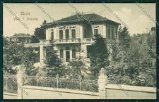 Milano Meda PIEGHINE cartolina QQ8132