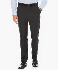 Men's Size 33x32 Slim Fit Perry Ellis Portfolio Dress Pants Dark Sapphire NWT