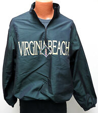 vtg Wise Guy VIRGINIA BEACH Iridescent Green Ski Surf Jacket OSFA crazy 90s wild
