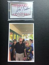 Joe Biden Autographed Card With Pic