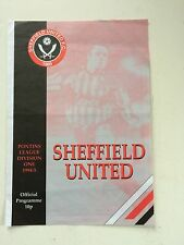 Sheffield United res v Notts County res 1994-95 (Pontins League Div 1)