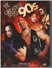WWE Greatest Stars of the 90s (DVD, 2009, 3-Disc Set) {2319}