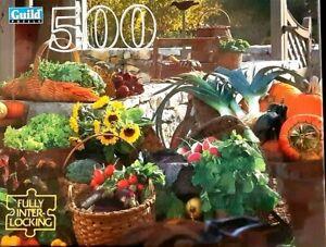 Guild 500 Piece Jigsaw Puzzle Autumn Harvest NEW