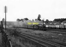 PHOTO  LMS JUBLIEE  LOCO NO 45644 HOWE AT LEIGHTON BUZZARD ON 4TH SEPT 1959