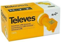Televes High Gain Universal Single LNB Full HD