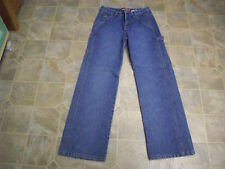 UNIONBAY Straight Leg 6 Pocket Carpenter Cotton Jeans 26X31 Women 8 #4005