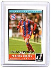 FRANCK RIBERY 2015 Donruss Soccer #42 Gold Press Proof Parallel /99 SP