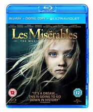 Les Miserables [Blu-ray Region Free, Broadway Musical, Jackman, Crowe, Hugo] NEW