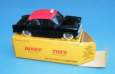 Frenh Dinky Toys 542 Taxi Ariane Simca MIVNMB!!!  From an old stock!!