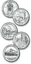 2010 P&D Set American Beautiful National Park quarters from the U.S. Mint Roll