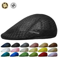 Duck Mesh Summer Gatsby Cap Mens Ivy Hat Golf Driving Sun Flat Cabbie Newsboy