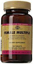 Solgar Female Multiple Tablets 120ct