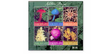 NLZ0203ARK New Zealand mushrooms MINI SHEET  MNH NEW ZEALAND 2002