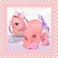 ❤️My Little Pony MLP G1 Vtg Cotton Candy Collector's Pose Pink Earth Pony CF❤️