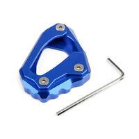 Side Pad Seitenständer Verlängerungs Plate Für Yamaha MT-10 FZ10 2016-17 Blue B7