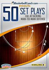 BasketballCoach.com 50 Set Plays for Attacking Man-to-Man Defense DVD