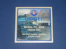 LIONEL READY-TO-RUN TRAIN SET INSTRUCTIONAL DVD