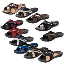 Herren Malibu Strandschuhe Sandalen Latschen Freizeit Hausschuhe Bade Schuhe