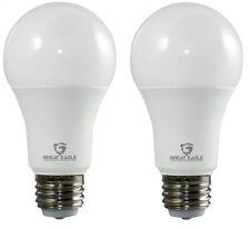 Great Eagle 40/60/100W Equivalent A19 3-way LED Bulb: 2700K/3000K/5000K (2-pack)