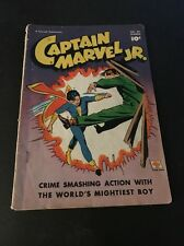 Captain Marvel Jr. #59 Awesome Cover Detached Pages And Centerfold!