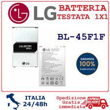 Batteria BL45F1F per LG K9 LM-X210EM K4 2017 / K8 2017 / M160 M200 NUOVA 2410mAh