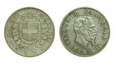 pcc1510) Vittorio Emanuele II Re d'Italia (1861-1878) - 2 Lire 1863 N - TONED