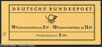 GERMANY MICHEL# MH 10 COMPLETE UNEXPLODED BOOKLET MINT NEVER HINGED AS SHOWN