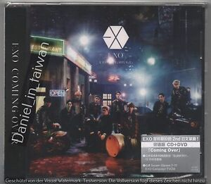 EXO: Coming Over - Japanese Single (2016) CD & DVD SEALED