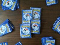 Pokemon Card Booster Packs - Holo, Authentic, Vintage - 16 Cards Per Pack