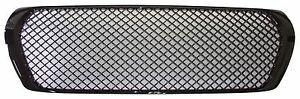 FRONT GRILLE Glossy Black Mesh STYLE FOR TOYOTA LAND CRUISER FJ200 2008-2014