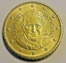 50 euro cent centesimi 2014  VATICANO Vatican Vatikan da rotolino Ватикан Cita