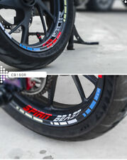 Motorcycle Rim Tape Reflective Wheel Stickers Decals for Honda CB190R CB190X U