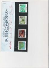 Mint Never Hinged/MNH Music, Musicians Decimal Great Britain Stamps