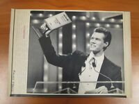 Vintage AP Wire Press Photo Singer Randy Travis, Music City News Country Award
