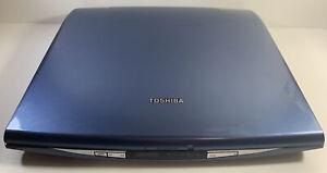 VINTAGE TOSHIBA SATELLITE S2505 - S505 LAPTOP WINDOWS XP2.2 PENTIUM 4