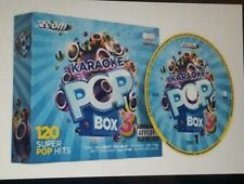 KARAOKE CDG   ZOOM  POP  BOX  SET   Vol 3 - 120  Chart Hits/Oldies/Musicals 2014