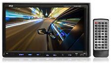 PLDN74BTI 7'' 2 Din LCD TouchScreen DVD CD MP3 Radio iPod Bluetooth Receiver