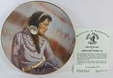 Gregory Perillo 1982 Minnehaha 3rd Issue Princess LOW Plate #360 With COA