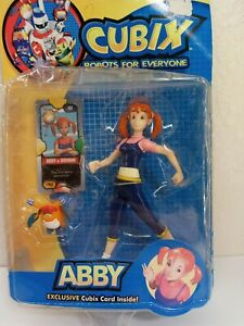 Cubix Robots for Everyone Abby Collectible Action Figure Toy NEW WB box damage