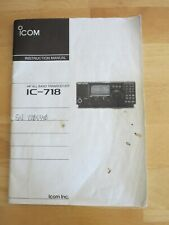 Icom IC-718 Manual