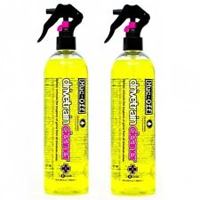 2x Muc-Off Drivetrain Chain Cleaner Bicycle Bike Cycle Grease Oil Remover 500ml